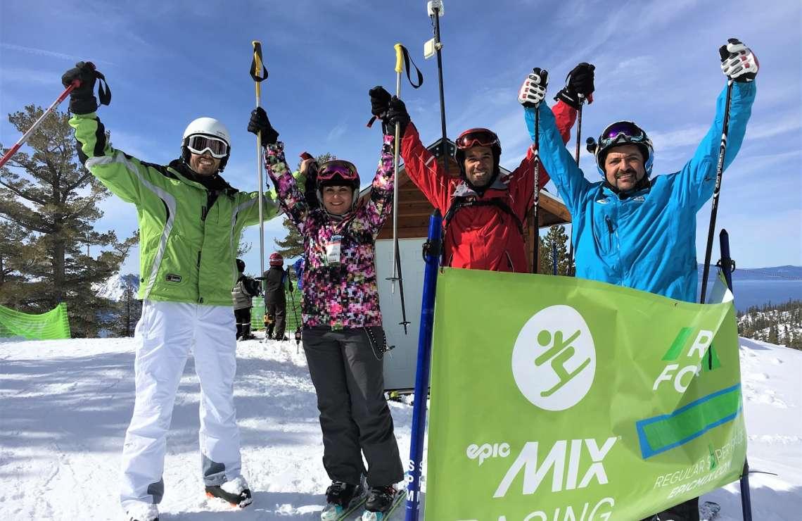 Ski Alpine Race